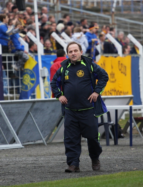 Lok trainer Jörg Seydler - alles hat fast geklappt, aber nur fast....